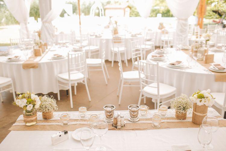 Százszorszebb esküvő, esküvői dekoráció, rendezvény